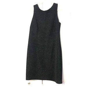 Coldwater Creek size 18w black crepe dress